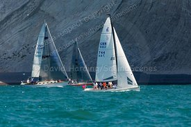Richard's Babble, GBR744, J/70, Round The Island Race 2019, 20190629146