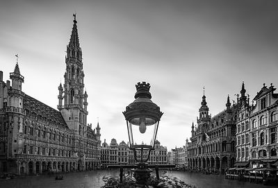 Brussels Grand Place 2019, long exposure