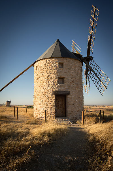 IMGP4260: Spain, Castilla-La Mancha: Windmill at Belmonte