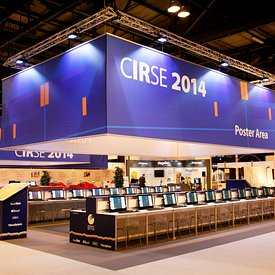 GES branding and exhibition at the CIRSE event, SECC, Glasgow.15.9.14..Picture Copyright:.Iain McLean,.79 Earlspark Avenue,.G...