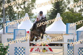 PIZZATO Manuel (ITA) and FELIN DB during LAKE ARENA Equestrian Summer Circuit II, CSI2* - Good Bye Competition - 140 cm, 2019...