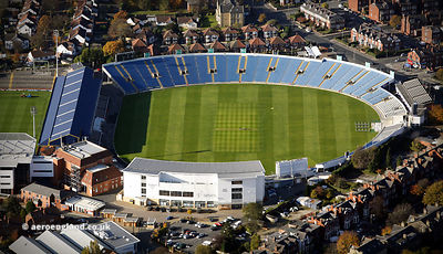 Headingley Cricket Ground aerial photograph