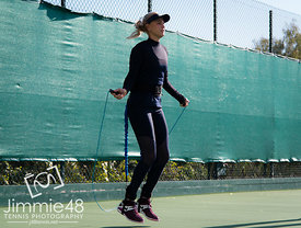 2019 Off Season Preparation, Tennis, Monte Carlo, Monaco, Dec 7
