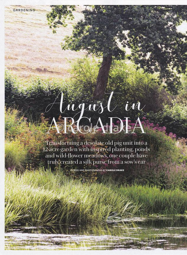 Am Brook Meadow, Country Living, August 2019