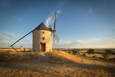 IMGP4269: Spain, Castilla-La Mancha: Windmill at Belmonte