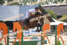 PINO Andrea (ITA) and DIABOLIK during LAKE ARENA Equestrian Summer Circuit II, CSI2* - Good Bye Competition - 140 cm, 2019. 0...