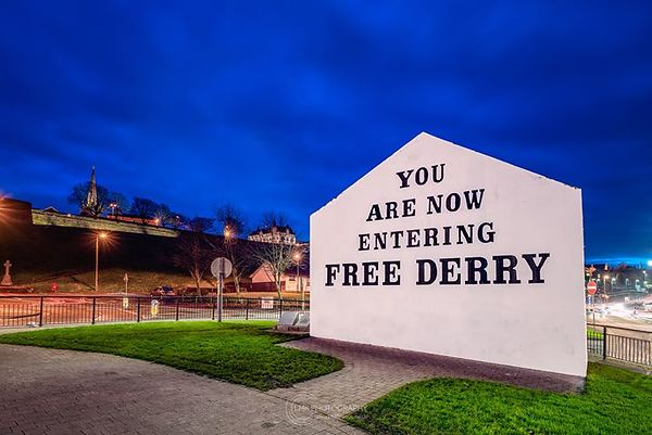 Free Derry Blue Hour