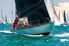 Whooper, GBR363R, Laurent Giles one-off, Round The Island Race 2019, 20190629140