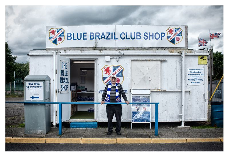 The Blue Brazil Club Shop, Central Park, Cowdenbeath FC