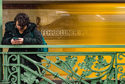 I will be late - Fehrbelliner Platz Station