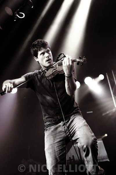 Seth Lakeman performing live at Cambridge Folk Festival 3rd Aug 2008