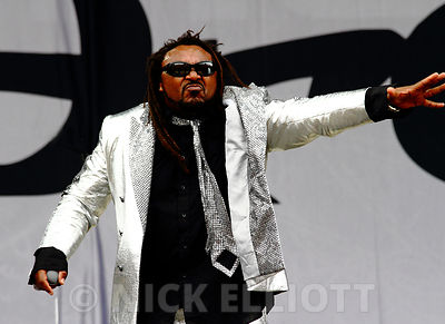 Skindred at Sonisphere on 1 August 2010