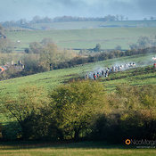 The Cottesmore Hunt at Withcote 30/11