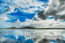 Cloud impression on North Uist - Europe, United Kingdom, Scotland, Outer Hebrides, North Uist, Clachan Sands (Highlands, Hebr...
