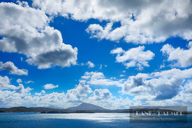 Ocean impression with clouds - Europe, Ireland, Donegal, Rosguill, Doagh - digital