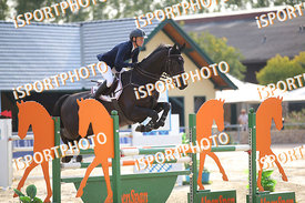 MADL Monika (AUT) and ATREJU 97 during LAKE ARENA Equestrian Summer Circuit II, CSI2* - Good Bye Competition - 140 cm, 2019. ...