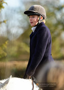 Rose Weatherby at the meet. The Cottesmore Hunt at Wymondham 11/1