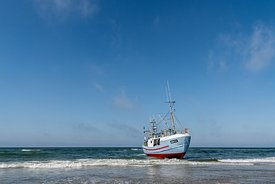 Fishing boats, Thorup Strand 15