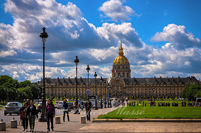L'hotel des Invalides Paris 05/14
