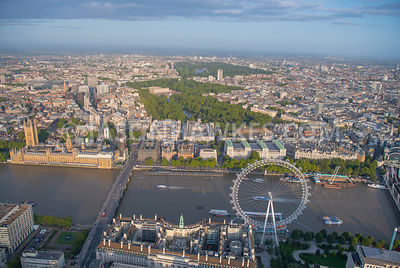 Westminster, aerial view.