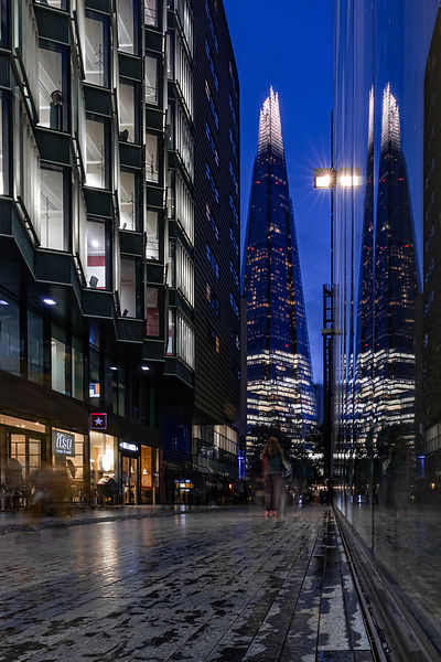 By the Shard, London