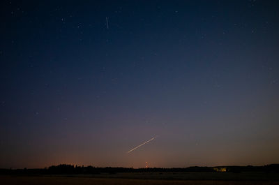 A meteor probably belonging to the Alpha Capricornids meteor shower on Aug 14 2019.