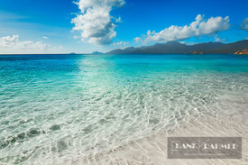 Beach impression at Anse Soleil - Africa, Seychelles, Mahe, Anse Soleil (Indian Ocean) - digital