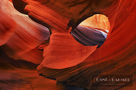 Sand stone structures in Antelope Canyon - North America, USA, Arizona, Coconino, Lake Powell, Page, Lower Antelope Canyon (C...