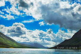Fjord landscape at Loch Etive - Europe, United Kingdom, Scotland, Argyll and Bute, Loch Etive (Highlands, Northwest Highlands...