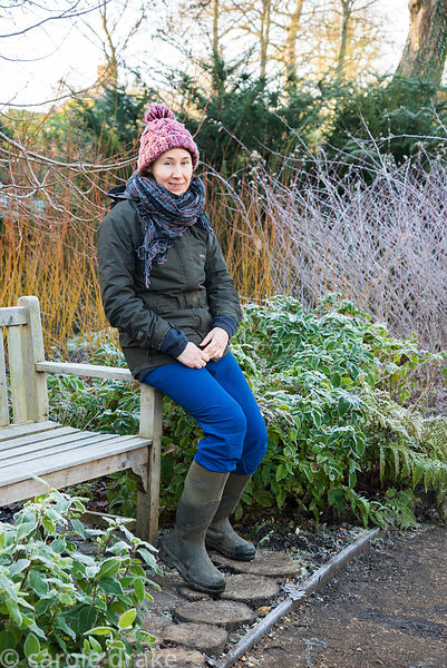 Vicki Gal, gardener in charge of the Winter Garden, Mottisfont