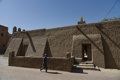 The Djinguereber Mosque in Timbuktu