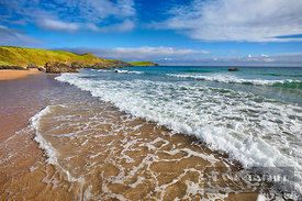 Beach impression  - Europe, United Kingdom, Scotland, Sutherland, Durness, Sango Bay (Highlands, Northwest Highlands) - digital