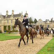 The Cottesmore Hunt at Exton Hall 20/2