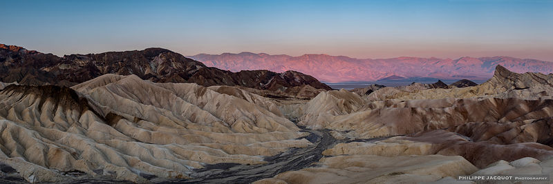 Sunrise at Zabriskie Point - California