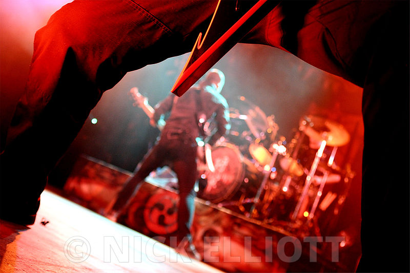 Trivium performing live at the UEA Norwich March 2010