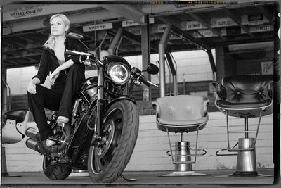 American Motorcycle (Shooting 'lifestyle' for Harley Davidson).