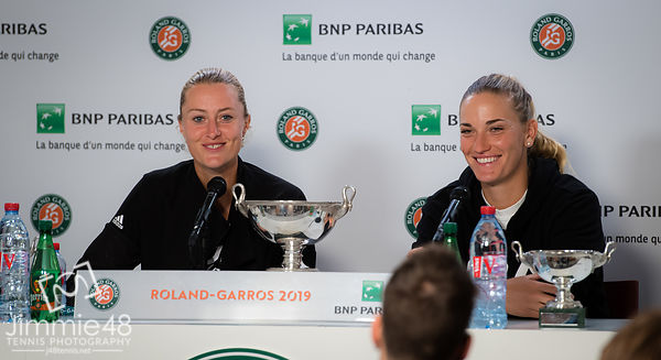 Roland Garros 2019, Tennis, Paris, France - Jun 9