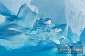 Iceberg detail - Antarctica, Antarctica, Weddell Sea, Riiser Larsen Ice Shelf - digital