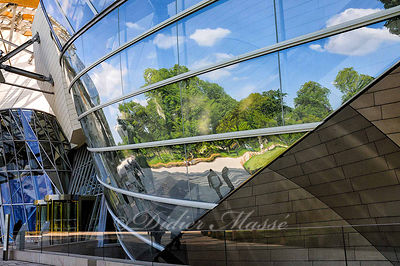 Reflets sur la Fondation Louis Vuitton  Paris 05/15