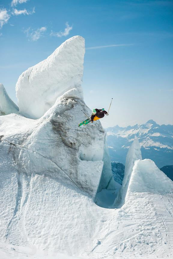 540 ice tap with Candide Thovex