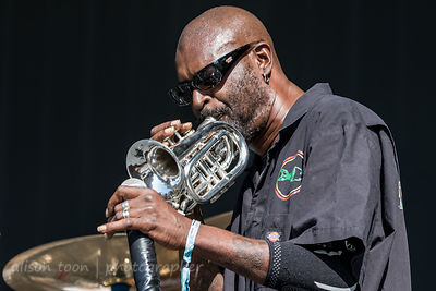 """Dirty"" Walter A. Kibby II, vocals and trumpet, Fishbone"