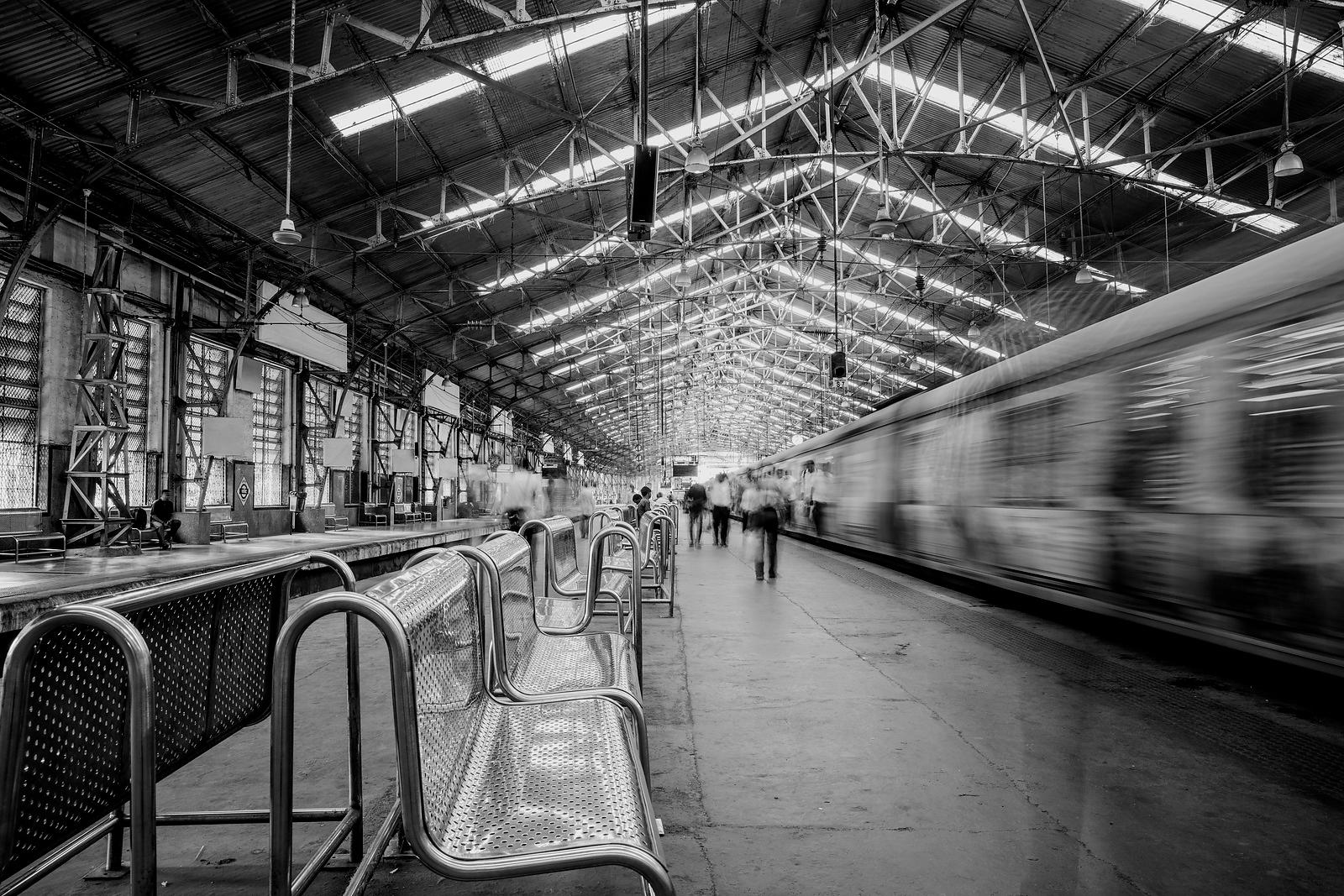Ghost Train No.5  Mumbai India 2015  Photographer Neil Emmerson  £975 inc uk vat  Edition of 25
