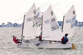 Optimist open meeting, Parkstone Yacht Club,, April 2013