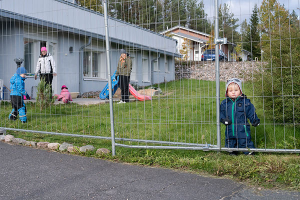 Children at daycare center, Petäjävesi.