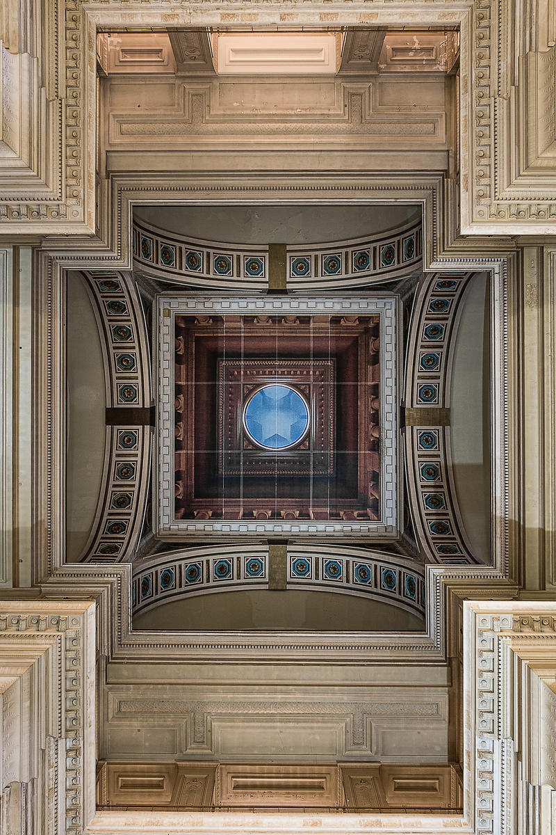 Courthouse ceiling, Brussels