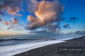 Ocean impression with clouds - Oceania, New Zealand, South Island, West Coast, Grey, Greymouth, Cobden (Polynesia) - digital