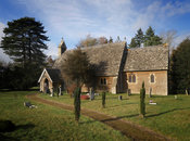 Exterior of St. Lawrence' Curch, Tubney, Oxfordshire