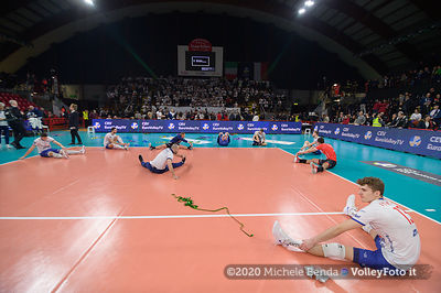 Sir Sicoma Monini PERUGIA vs Verva WARSZAWA Orlen Paliwa, 4th round, Pool D - Leg 6, CEV Volleyball Champions League 2020