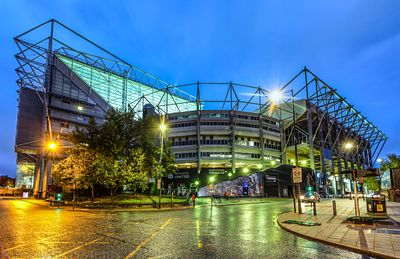 St James' Park in the Rain