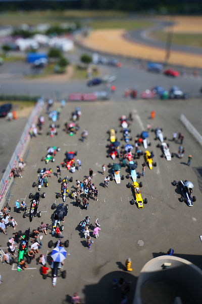 Formula Ford pre-grid - Le Mans Circuit